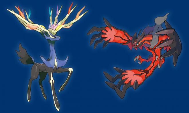 Pokemon Xerneas And Yveltal